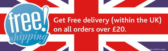 Free delivery on all orders over £20